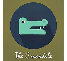 The Crocodile Cute Portrait Photographic Print