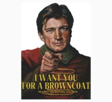 I Want You for a browncoat Kids Tee