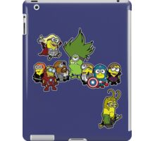 Assemble Minions iPad Case/Skin
