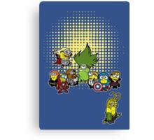 Assemble Minions Canvas Print