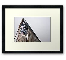 Berlin Wall Framed Print