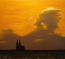 Cathedral in Silhouette by Christopher Jones