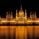 Hungarian Parliament building. by FER737NG