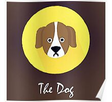 The Dog Cute Portrait Poster