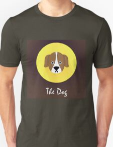 The Dog Cute Portrait Unisex T-Shirt