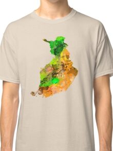 Map of  Finland Classic T-Shirt