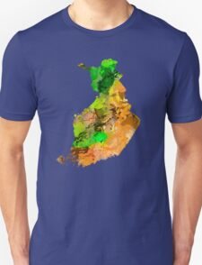 Map of  Finland T-Shirt
