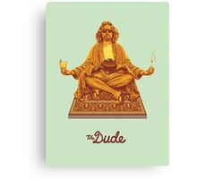 The Big Lebowski The Dude Canvas Print