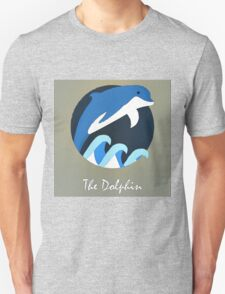 The Dolphin Cute Portrait T-Shirt