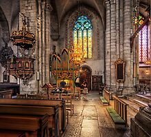 Visby Cathedral by Bartek Kuzia