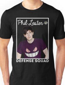 Join the PHIL LESTER DEFENSE SQUAD (White) Unisex T-Shirt