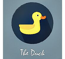 The Duck Cute Portrait Photographic Print