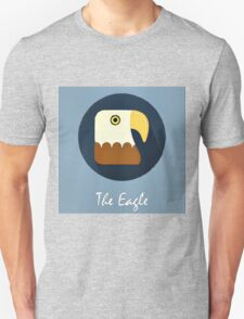 The Eagle Cute Portrait T-Shirt