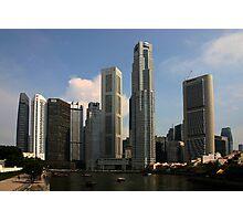 Singapore High rise Photographic Print
