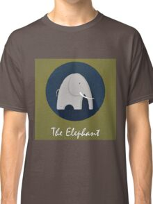 The Elephant Cute Portrait Classic T-Shirt