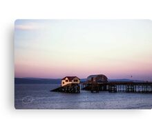Swansea Lifeboat Canvas Print