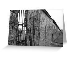 Berlin Wall 1 Greeting Card