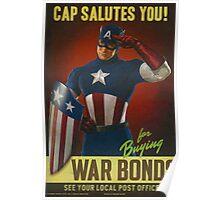 Cap Salutes You! Poster