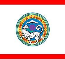 Flag of Almaty  by abbeyz71