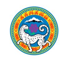 Flag of Almaty  Sticker