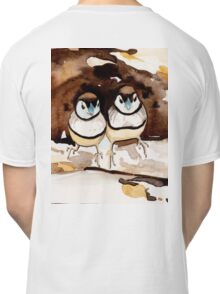 Double Bar Finches Classic T-Shirt