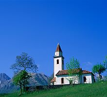 Mountain Chapel, Belluno by Roberto Herrett