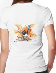 Superb Fairy Wren Womens Fitted T-Shirt