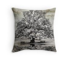 The Beauty Of Grey Throw Pillow