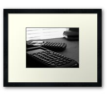 Tales of a Former Engineering Student - Part III Framed Print