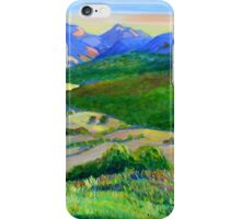 Beechmont to Mt Warning  iPhone Case/Skin