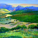 Beechmont to Mt Warning  by Virginia McGowan