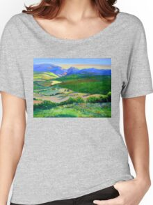 Beechmont to Mt Warning  Women's Relaxed Fit T-Shirt