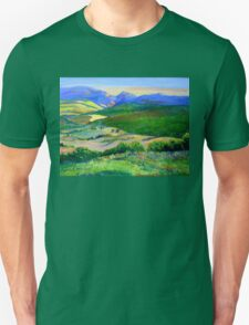 Beechmont to Mt Warning  Unisex T-Shirt