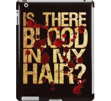Vampire Grooming Issues iPad Case/Skin