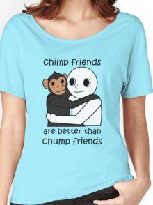 Chimp Friends Women's Relaxed Fit T-Shirt