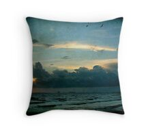 Ocean Springs Shoreline Throw Pillow