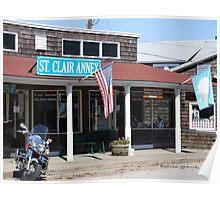 St. Clair Annex - Bay Street - Watch Hill, Rhode Island Poster