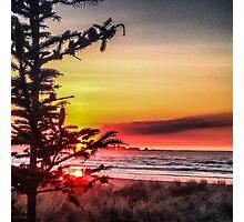 Oregon sunset Photographic Print