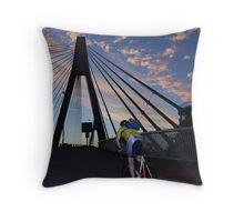 Anzace bridge Throw Pillow