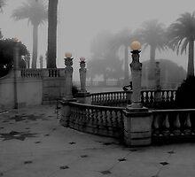 COURTYARD - EARLY MORNING by Paul Quixote Alleyne