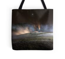 Geothermal Painted with Light Tote Bag