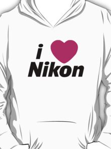 I Love Nikon -  But I own a canon! T-Shirt