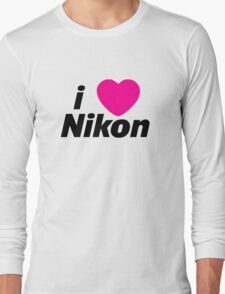 I Love Nikon -  But I own a canon! Long Sleeve T-Shirt