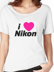 I Love Nikon -  But I own a canon! Women's Relaxed Fit T-Shirt