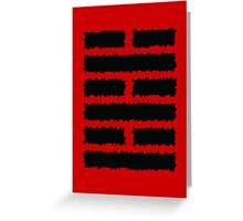 Arashikage Greeting Card