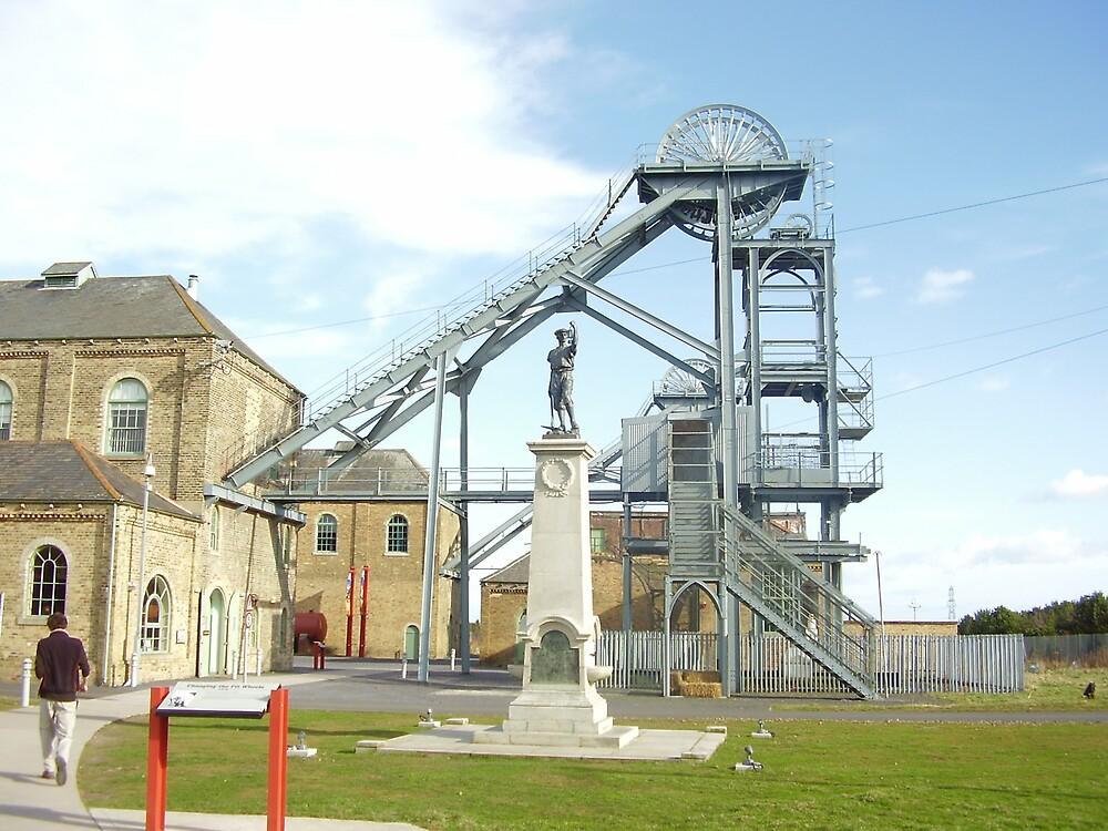 Woodhorn Colliery Museum Ashington by GEORGE SANDERSON