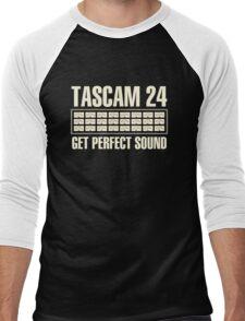 Tascam 24 Men's Baseball ¾ T-Shirt