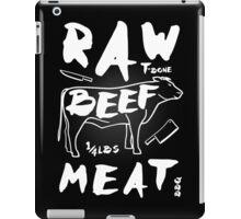 Raw Beef meat iPad Case/Skin