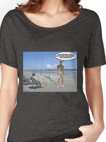 Hook, Line & Sink Her! Women's Relaxed Fit T-Shirt