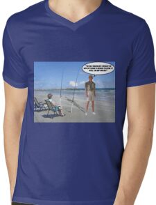 Hook, Line & Sink Her! Mens V-Neck T-Shirt
